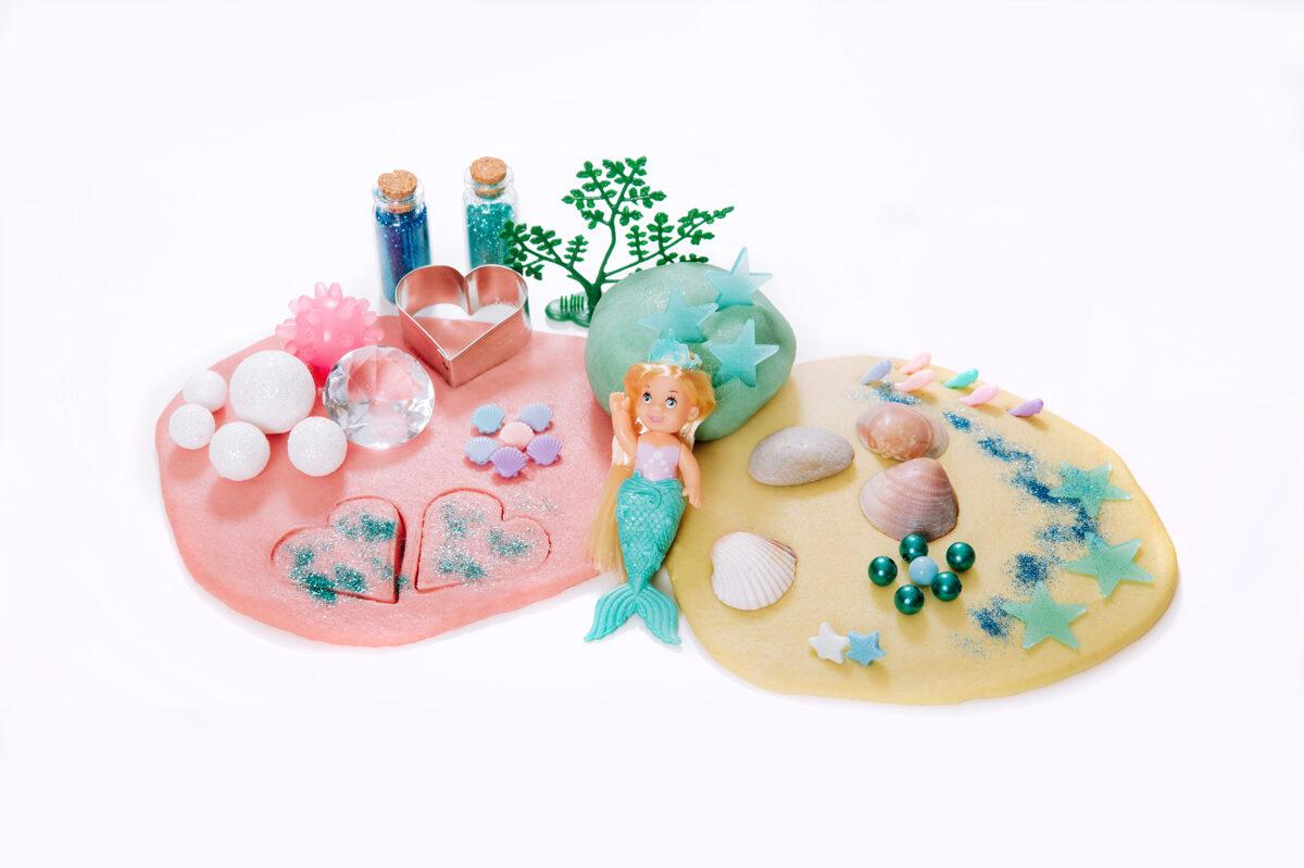 NĀRIŅA - Plastilīna (playdough) komplekts bērna radošās, sensorās un iztēles attīstībai