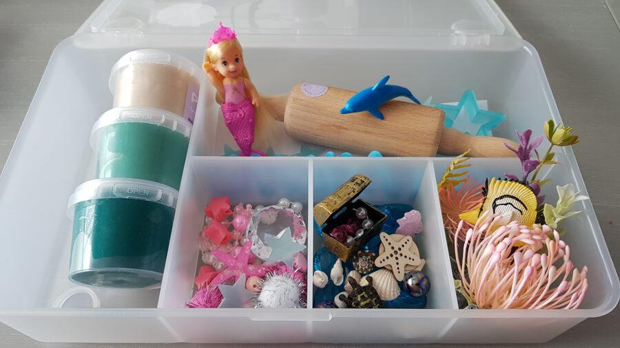 JAUNUMS - NĀRIŅA - Plastilīna (playdough) komplekts bērna radošās, sensorās un iztēles attīstībai